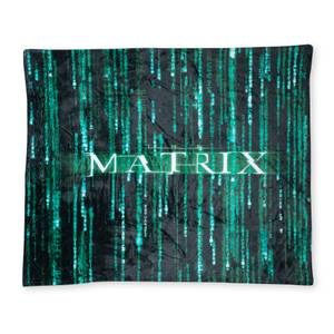 The Matrix Fleece Blanket