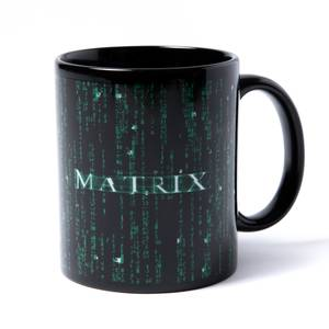 The Matrix Code Tasse - Schwarz