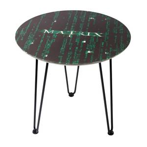 Decorsome x The Matrix Wooden Side Table