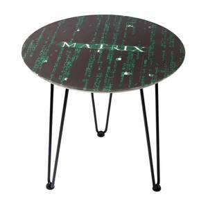 Mesita de madera The Matrix