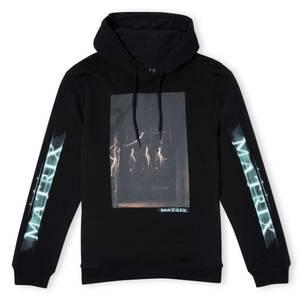 The Matrix Code Hoodie - Black
