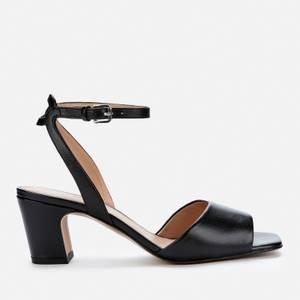 Whistles Women's Emerson Block Heeled Sandals - Black