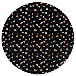 Earth Friendly Confetti Round Bath Mat