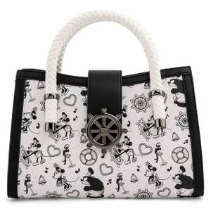 Loungefly Disney Steamboat Willie Music Cruise Cross Body Bag