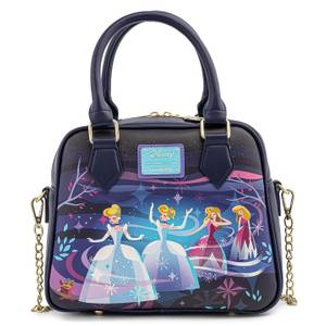 Loungefly Disney Cinderella Castle Series Chain Strap Cross Body Bag