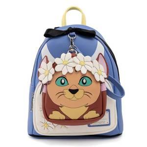 Loungefly Disney Alice In Wonderland Cosplay Mini Backpack With Detachable Mini Wristlet