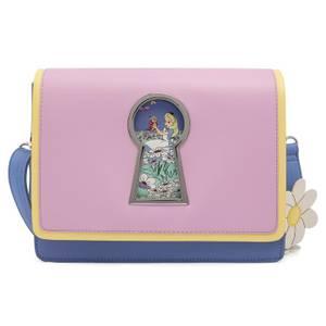 Loungefly Disney Alice In Wonderland Key Hole Cross Body Bag