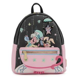 Loungefly Disney Alice In Wonderland A Very Merry Unbirthday To You Mini Backpack