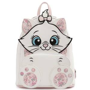 Loungefly Disney Marie Floral Footsy Mini Backpack