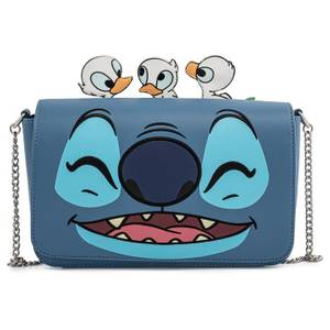 Loungefly Disney Lilo And Stitch Duckies Cross Body Bag