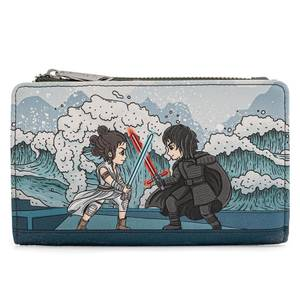 Loungefly Star Wars Kylo Rey Mixed Emotions Flap Wallet