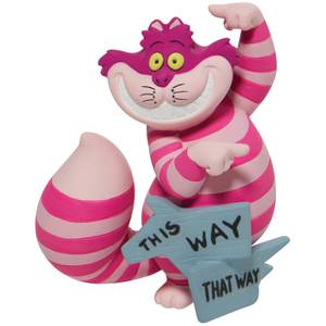 Disney This Way Cheshire Cat Figurine