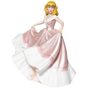 Disney Cinderella Pink Dress Couture Figure