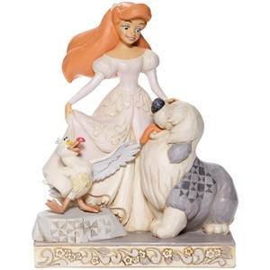 Disney White Woodland Ariel Figurine