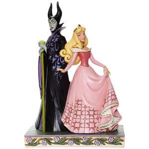 Figurine Disney Aurore et Maléfique