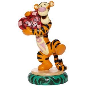 Disney Tigger Holding Heart Figurine