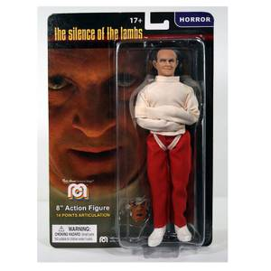 "Mego Silence of the Lambs Hannibal Lecter in Straight Jacket 8"" Figure"