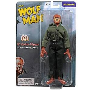 "Mego 8"" Figure - Universal Monsters Wolfman"