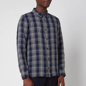 A.P.C. Men's Vincent Shirt - Dark Navy