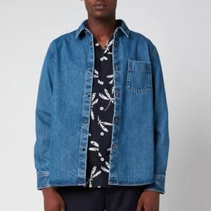 A.P.C. Men's Victor Overshirt - Blue