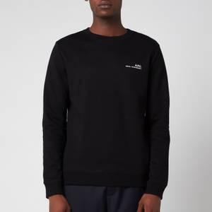 A.P.C. Men's Item Sweatshirt - Black
