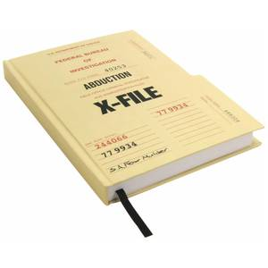 Coop X-Files Case File Journal Hardcover