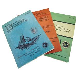 Coop NASA Softcover Journals Set of 3