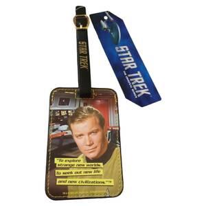 Coop Star Trek Luggage Tag Kirk