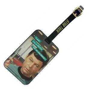 Coop Star Trek Luggage Tag McCoy