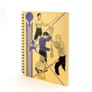 Coop Star Trek School Folder Notebook Hardcover