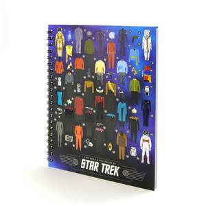 Coop Star Trek Uniforms Notebook