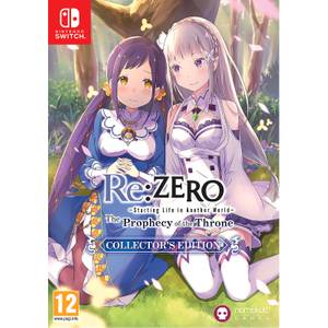Re:ZERO - The Prophecy of the Throne Collector's Edition (Switch)