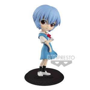 Bandai Q Posket Rei Ayanami Blue Version Figure