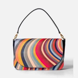 Paul Smith Women's Swirl Medium Saddle Bag - Multi