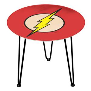 Decorsome DC The Flash Logo Wooden Side Table