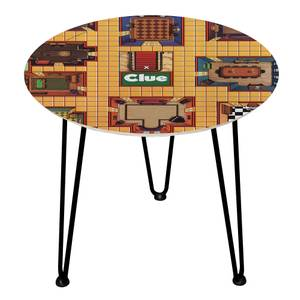 Decorsome Cluedo Wooden Side Table