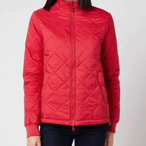 Barbour Women's Southport Quilt Jacket - Ocean Red/Blusher