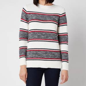 Barbour Women's Merseyside Knitted Top - Off White