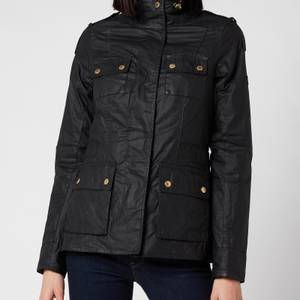 Barbour International Women's Delta Wax - Black