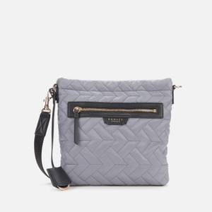 Radley Women's Finsbury Park Quilted Small Ziptop Cross Body Bag - Fossil