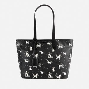 Radley Women's Maple Cross Fun Pups Medium Tote Bag - Black