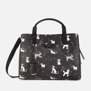 Radley Women's Maple Cross Fun Pups Medium Ziptop Multiway Bag - Black
