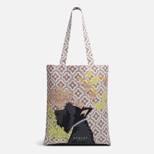Radley Women's Deco Floral Vintage Radley Medium Tote Bag - Natural