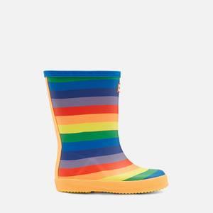 Hunter Kids' First Classic Rainbow Wellington Boots - Multi