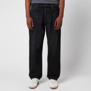 Acne Studios Men's Loose Fit Jeans - Black