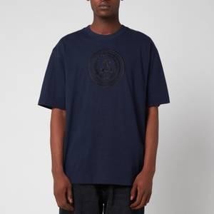 Acne Studios Men's Embroidered Logo T-Shirt - Navy