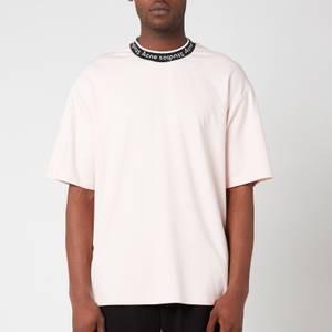 Acne Studios Men's Logo Binding T-Shirt - Powder Pink