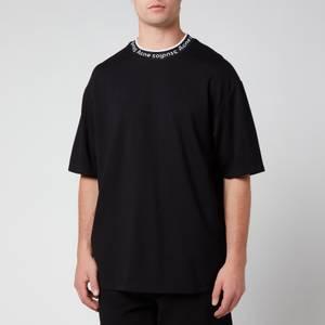 Acne Studios Men's Logo Binding T-Shirt - Black