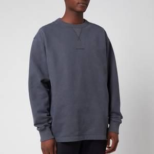 Acne Studios Men's Logo Print Sweatshirt - Slate Grey