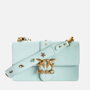 Pinko Women's Love Classic Icon Simply Shoulder Bag - Sage Grey